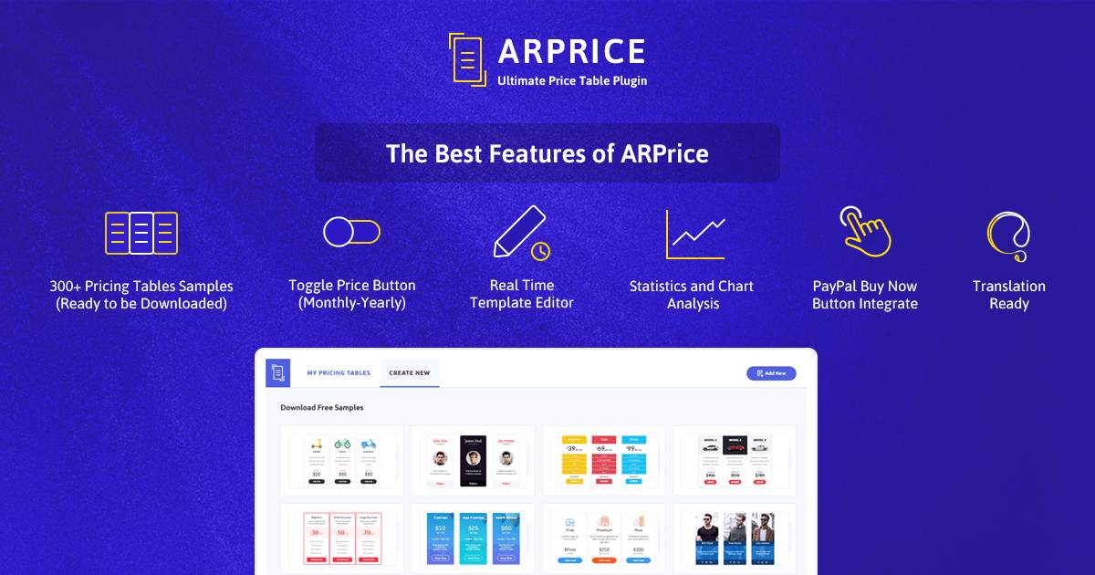 ARPrice Pricing Plugin